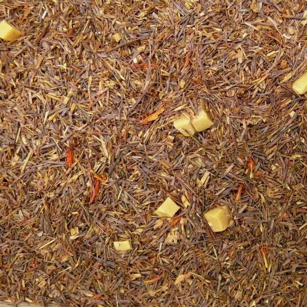 Rotbuschtee Sahne-Karamell aromatisiert