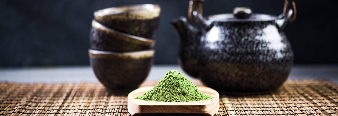 Matcha Tee und Zubehör