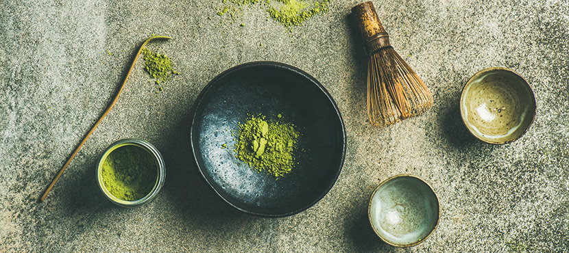 Matcha Teepulver - Zubereitung