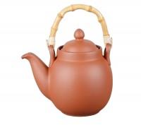 Teekanne aus Ton klassisch - 1,1l