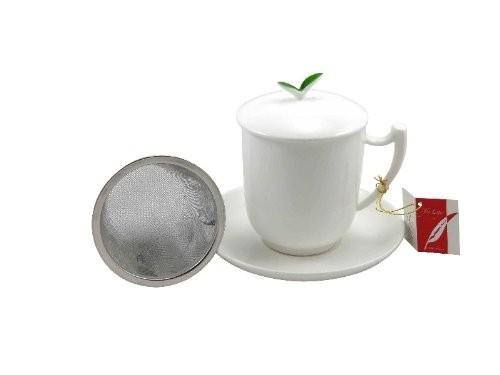 Teebecher mit Sieb - Tea Time von TeaLogic
