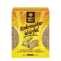 """Rohrwürfelzucker """"Golden Rocks"""" braun 500g"""