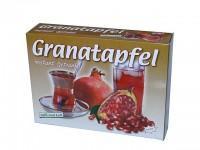 Tee zum einrühren in Wasser, Milch oder zum verfeinern von Desserts mit dem einmaligen Geschmack vollreifer Granatäpfel