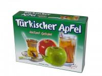 türkischer grüner Apfeltee in Pulverform zum einfachen zubereiten in heißem und kalten Wasser