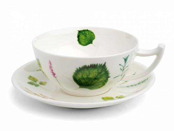 Jumbo Teetasse mit Untertasse Prima Vera von TeaLogic 0,3l