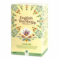 English Tea Shop - Calm Me, Koffeinfrei, BIO, 20 Teebeutel