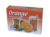 sonnengereifte Orangen für den schnellen Genuss – Teepulver einfach in Wasser einrühren