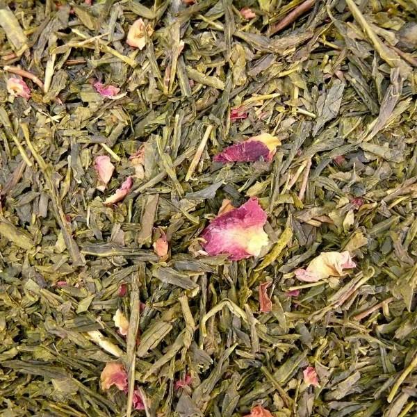 Grüner Tee Sencha Sakura Kirsch