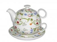 Tea for One Set TeaLogic Fleurette