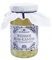 Weisser Rum-Kandis mit Vanilleschote 270g