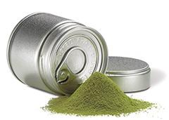 Matcha Tee in der Dose