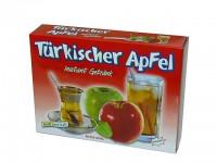 türkischer roter Apfeltee in Pulverform zum einfachen zubereiten in heißem und kalten Wasser