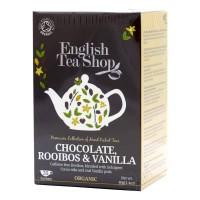 English Tea Shop - Schokolade Rooibos & Vanille, BIO , 20 Teebeutel