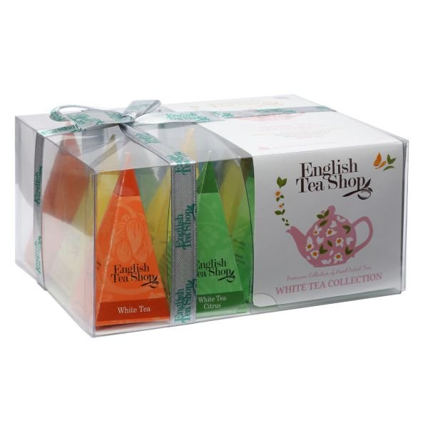 "English Tea Shop - ""Weißer Tee Kollektion"", 12 Pyramiden-Beutel"