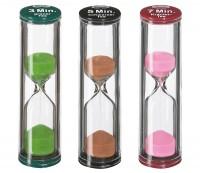 Tee Sanduhr Sandy - 3 Zeiten - Glas