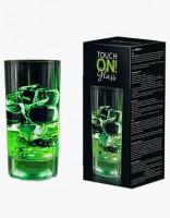 Creano touchON!glass LED Longdrinkglas 0,3l grün